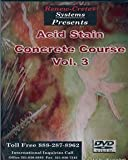 5 DVD Set of Decorative Concrete Training Videos