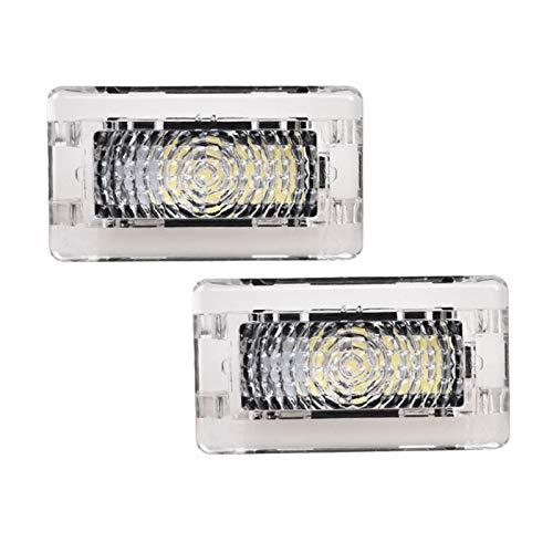 (Ultra-bright White Led High Output Interior Light Car Door Lamp Puddle Trunk Light Kit for Tesla Model 3 S X (2 pack))
