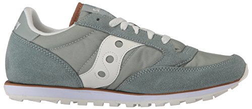 Jazz Original Aqua Grey Chaussures Femme de Saucony White Cross fx66pw