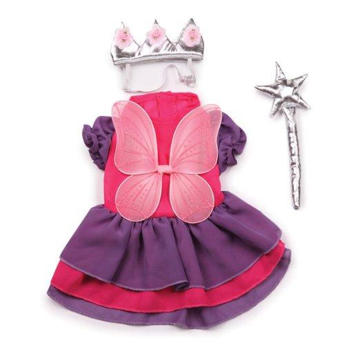 Zack & Zoey Fairy Princess Costume, (Fairy Princess Pet Halloween Costume)