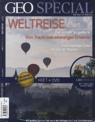 GEO Special Nr. 6/2011 Weltreise. inkl. DVD