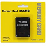 256MB Memory Card for Playstation 2 - High Speed