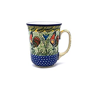 Polish Pottery Mug – 16 oz. Bistro – Unikat Signature U2663