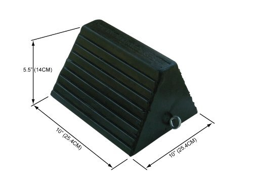 Wheel Chock,Rubber 10x8x6 by Buyers Products (Image #1)