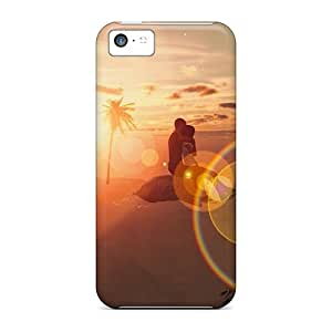 Awesome Design Warm Embrace Hard Case Cover For Iphone 5c