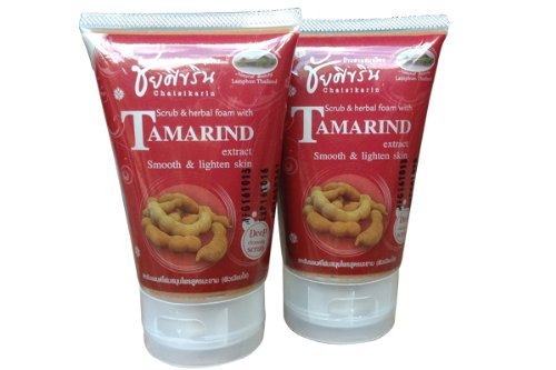 Chaisikarin-Tamrind-Extract-Herbal-Facial-Scrub-150-G-X-2-Pcs-Thailand