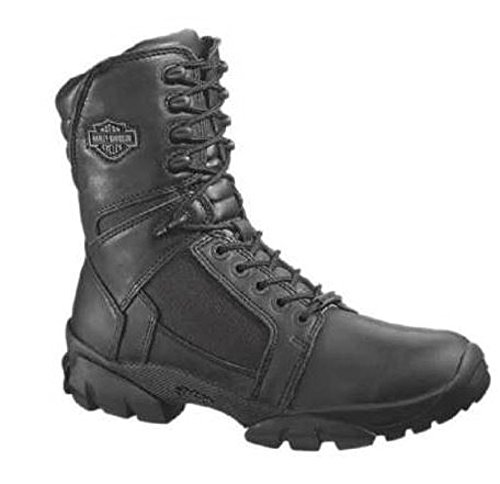 (Harley-Davidson Men's Lynx Waterproof Boot,Black,8 M US)