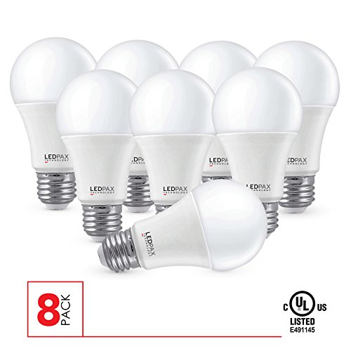 A19-Non-Dimmable-LED-Bulb-9W-60W-equivalent-800-Lumens-CRI-80-UL-Listed