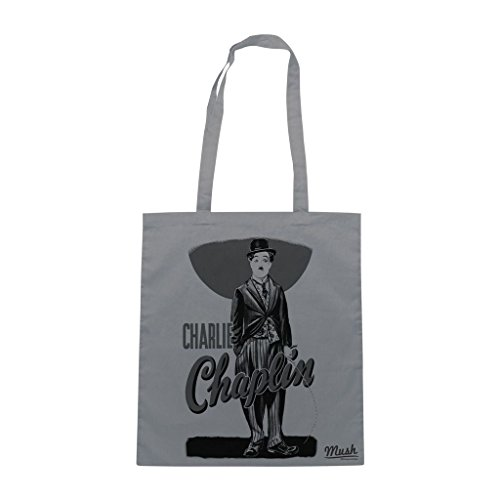 Borsa Charlie Chaplin - Grigia - Film by Mush Dress Your Style