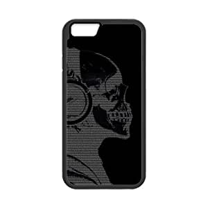 Custom Cool Skull Death Heavy Music Case for iPhone6 4.7 inch (Laser Technology)