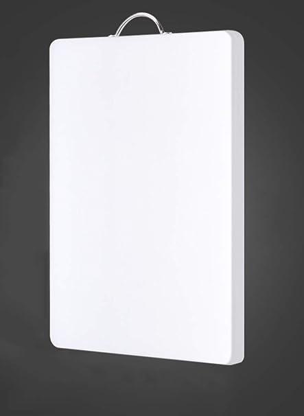 Blanc 34x24cm Plastique Planche De Cuisine Articles cuisine Planche à Découper