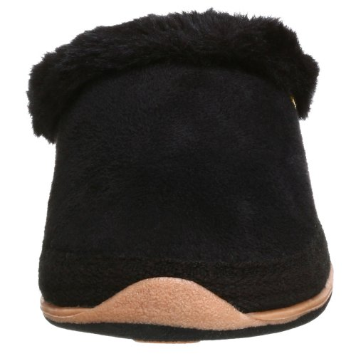 Deerstags Womens À Chaque Fois Glisser Sur La Pantoufle Noire