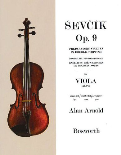 Read Online Sevcik for Viola - Opus 9: Preparatory Studies in Double-Stopping (Sevcik Violin Studies) pdf epub