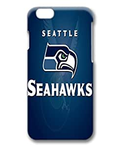 custom and diy for iphone 6 plus 3D NFL seattle seahawks football logos blue background by customhappyshop by runtopwell