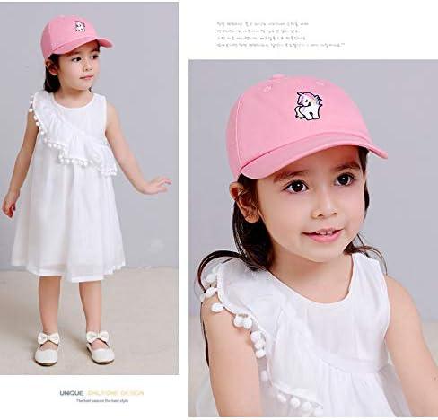 Girls Baseball Cap Hat Kids Spring Summer Sun Hats Beach Hats