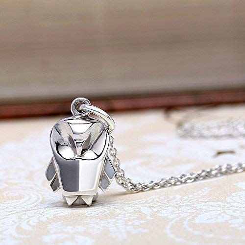 Sterling Silver Origami Owl Sterling Silver Charm Necklace By Lertvizutte (Hypoallergenic) (Origami Owl Valentine Charms)
