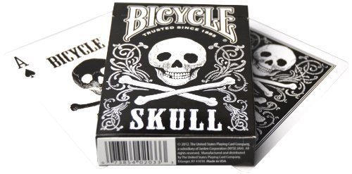 Bicycle Skull Playing Cards Athletics, Exercise, Workout, Sport, Fitness by Athletics & Exercise