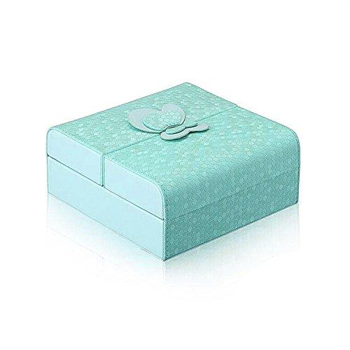 LilyJewelry Leather Organizer Jewelry Box Storage Travel Case