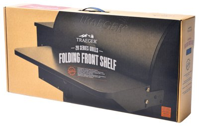 Traeger Folding Front Shelf - 20 Series - BAC361 - Fits Tailgater and 20 Series Models by Traeger