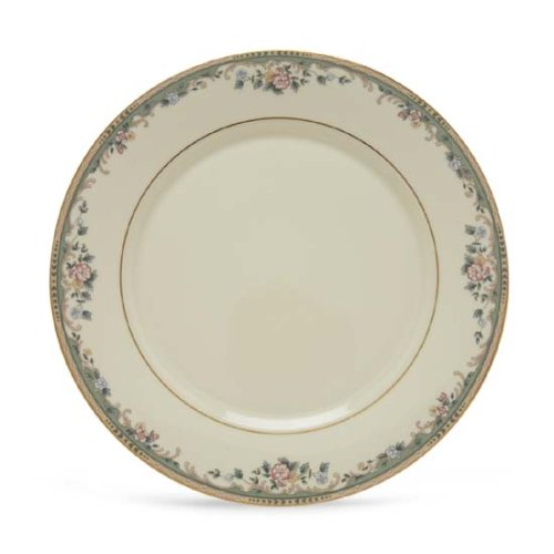 Lenox Spring Vista Gold Banded Ivory China Dinner Plate by Lenox