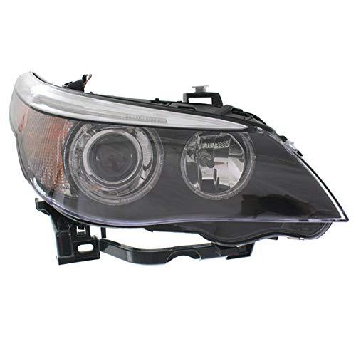 Koolzap For 04-07 BMW 5-Series Front Headlight Headlamp HID/Xenon Head Light Lamp Right Side Bmw 5 Series Headlamp