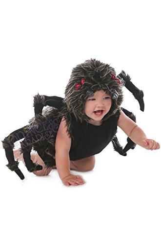 Princess Paradise Baby Boy's Talan The Trantula Costume, Black, 6/12/Medium
