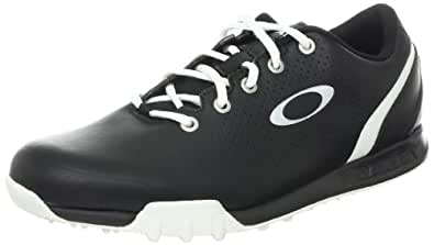 Oakley Men's Ripcord Golf Shoe,Black/White,7.5 W US