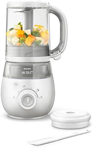 Philips Avent SCF875/02 - Procesador de alimentos para bebé 4 en 1, color blanco: Amazon.es: Electrónica