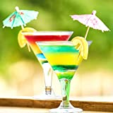 7oz Plastic Martini Glasses for Parties,Clear