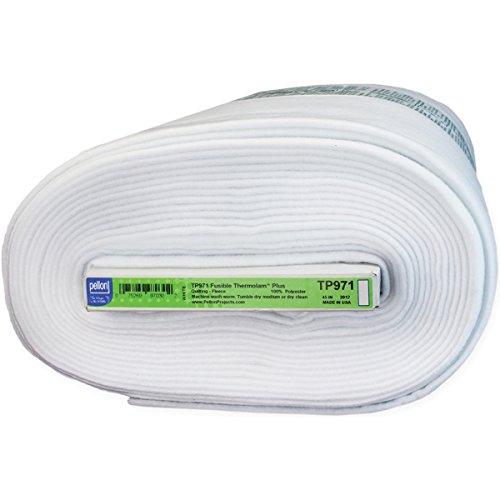 Pellon Thermolam Plus Fusible Fleece, 45-Inch/15-Yard, ()