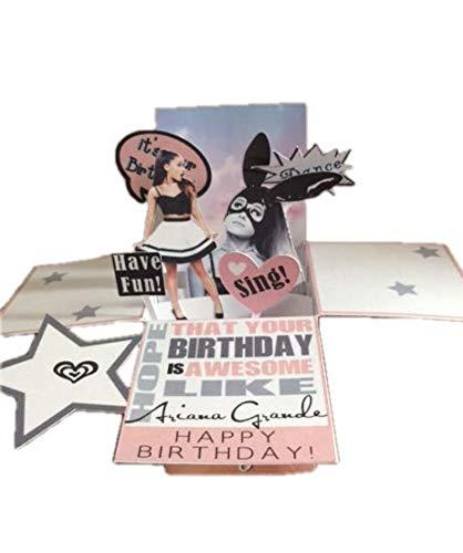 TLC Corner- Ariana Grande Sweetner Pop-Up Birthday Greeting Card