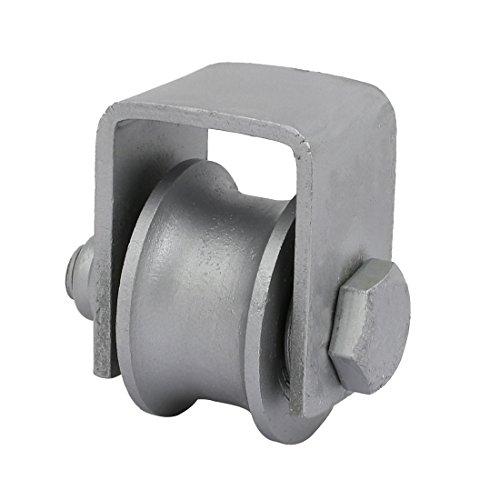 uxcell-15-inch-Dia-U-Groove-Rigid-Caster-Wheel-for-Sliding-Door-Track