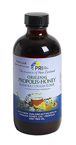Pacific Resources Propolis and Manuka Honey Cough Elixir, 8 oz. - Resource Honey