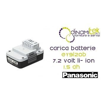 ey9l20b Panasonic Akku 7 -2 Volt Li-Ion 1.5 Ah