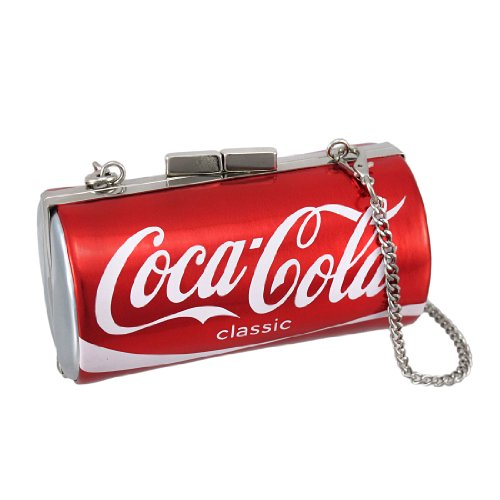 Licensed Coca-Cola Classic Can Evening Bag Coke Clutch