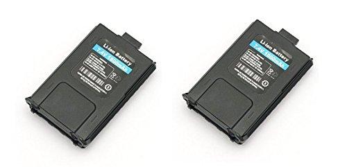 2Pcs Original BaoFeng UV-5R Two-Way Radio Battery from NSKI