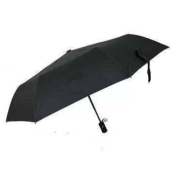 Storm Umbrella Paraguas, Negro, A Prueba De Viento, Ligero Y Portátil, Automático
