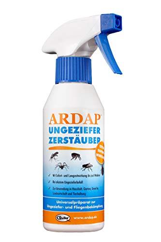 Quiko ARDAP Zerstäuber – Wirkungsvolles Insektizid gegen Fliegen, Schädlinge oder Lästlinge – Pumpspray für Zuhause oder in unmittelbarer Nähe von Tieren – 1 x 500 ml