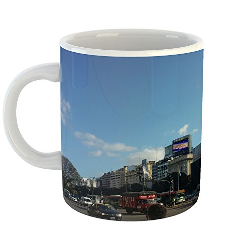Westlake Art - Area Car - 11oz Coffee Cup Mug - Modern Picture Photography Artwork Home Office Birthday Gift - 11 Ounce (C2EB-6E192) - Corporate Obelisk