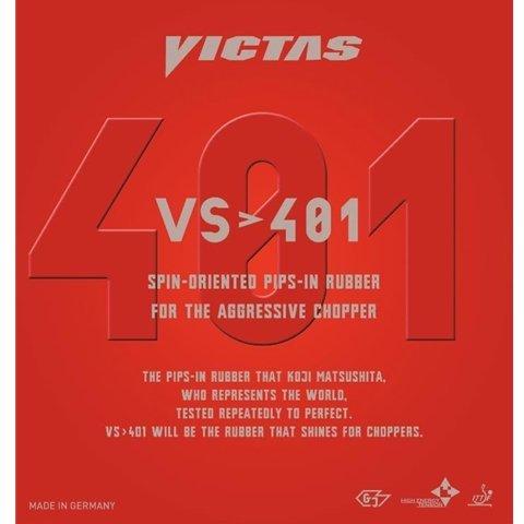 【福袋セール】 Victas - VS>401 - B01H2RN0JG オフェンス卓球ラケット用ラバー - 黒 1.8mm 1.8mm B01H2RN0JG, ゴルフシティアルド:7d185243 --- brp.inlineteambrugge.be