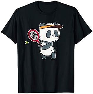 ⭐️⭐️⭐️ Kids Cute Panda Tennis  - Tennis Lover  Gifts Need Funny Tee Shirt Need Funny Short/Long Sleeve Shirt/Hoodie