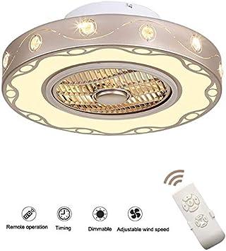 J.DM Los Ventiladores de Techo con iluminación Sigilo Original de controlar el Amortiguador alejado LED Ventilador de Techo Ultra silencioso Ventilador de Techo Que Viven Sala de la,B