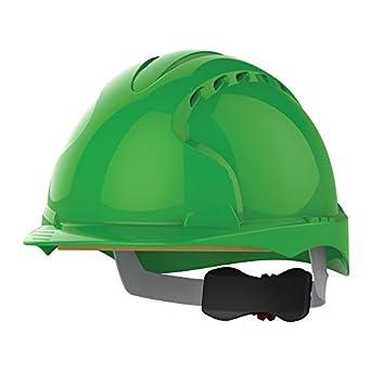 JSP AJF170-000-300 EVO3 Revolution - Casco de trinquete con ventilación, color verde: Amazon.es: Amazon.es