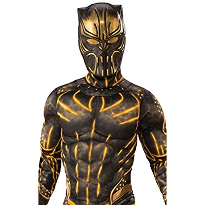 Rubie's Costume Co - Marvel: Black Panther Movie Deluxe Boys Erik Killmonger Battle Suit Costume: Toys & Games