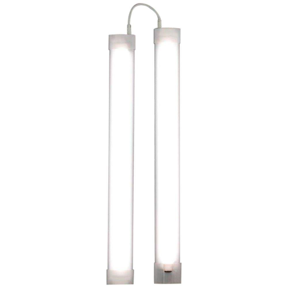 GE 18 in. LED Slim Line Dimming Linkable Under Cabinet Light ...