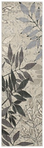- Rug Squared Stanford Contemporary Rug Runner (STD11), 2-Feet 3-Inches by 8-Feet, Silver