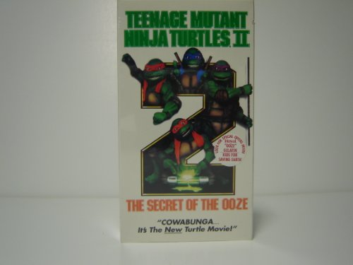 Teenage Mutant Ninja Turtles II - The Secret of the Ooze [VHS]