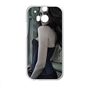 HDSAO Anne Hathaway Design Pesonalized Creative Phone Case For HTC M8