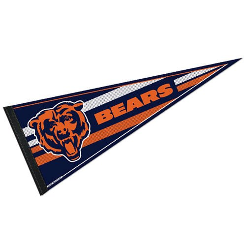 NFL Chicago Bears WCR63761013 Carded Classic Pennant, 12