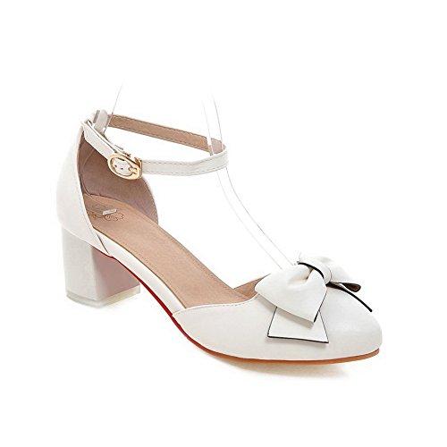 Adee , Damen Sandalen, Weiß - weiß - Größe: 38 EU